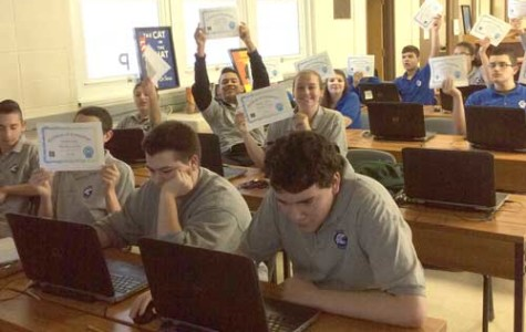"Freshmen Complete ""Hour of Code"""