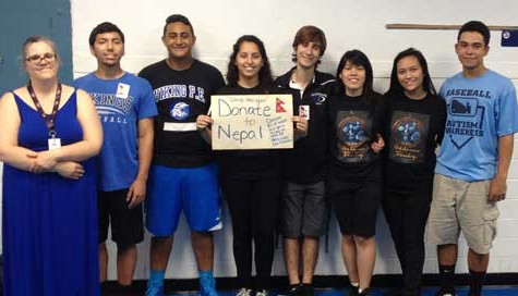 NAHS Vikings Support Nepal